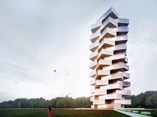 Array Tower: styl , w kategorii  zaprojektowany przez Skyline