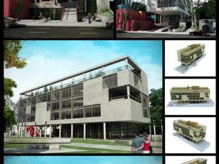 Proyecto final para la Universidad: Casas de estilo moderno por DDARQ3D