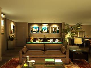 Dining room by Eduardo Novaes Arquitetura e Urbanismo Ltda.