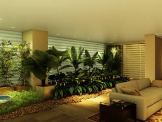 Jardines de invierno de estilo ecléctico de Eduardo Novaes Arquitetura e Urbanismo Ltda. Ecléctico