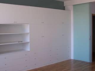 Diseño de mueble tendenza - diseño de interiores SalonesAlmacenamiento Tablero DM Blanco