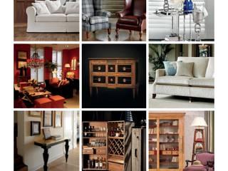 Image CoHoArt: klassische Wohnzimmer von CottageHomeArt - Est. 2012 | Maßmöbelhaus & 3D Interior Design