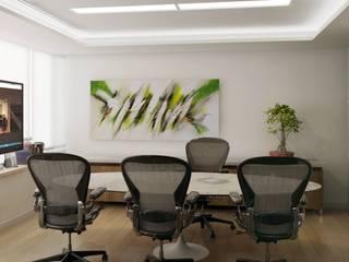 Oficina Gerente:  de estilo  por DDARQ3D