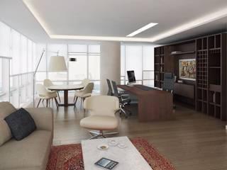 Oficina Presidente:  de estilo  por DDARQ3D