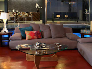 Living room by DIN Interiorismo , Modern