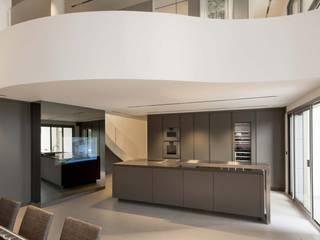 Rénovation d'un loft à Caluire près de Lyon réHome Cuisine moderne