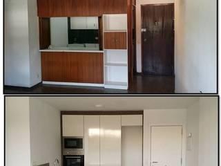Antes y después de cocina de Tatiana Doria, Diseño de interiores