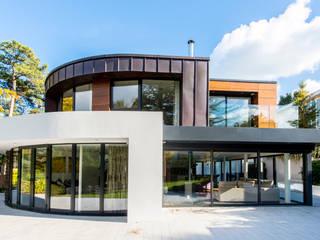 Canford Cliffs, Poole, Dorset Casas modernas de David James Architects & Partners Ltd Moderno