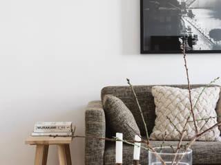 Remodelação de apartamento Architect Your Home Salas de estar modernas