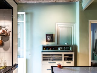 JV-FLAT-REFURBISHMENT-SARDENYA Salones de estilo moderno de Andres Flajszer Photography Moderno