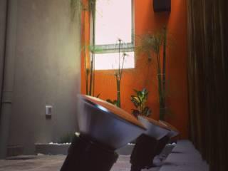 Jardines de estilo moderno de Brarda Roda Arquitectos Moderno