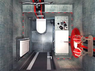 Bathroom by Your royal design, Industrial