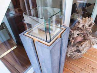 Betonsäule Fang Interior Design СадВогонь ями і барбекю