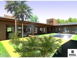 ENGEL arquitectos Jardines de estilo moderno