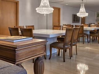 Comedores de estilo  por Juliana Goulart Arquitetura e Design de Interiores