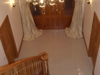 Marble Hallway Tiles Classic style corridor, hallway and stairs by Sabbini & Co. Tile Merchants Classic