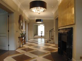 Limestone Modern living room by De Ferranti Modern