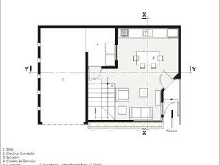 Casa Monica:  de estilo  por Arqozs