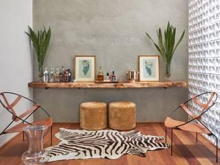 Moderne Wohnzimmer von Piloni Arquitetura Modern