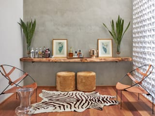 Salon moderne par Piloni Arquitetura Moderne