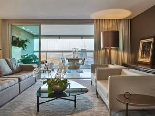 Salas de estilo moderno de Juliana Goulart Arquitetura e Design de Interiores Moderno