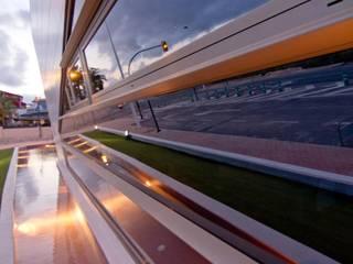 CENTRO INICIATIVAS TURíSTICAS Edificios de oficinas de estilo moderno de ESTUDIO DE ARQUITECTURA TORRES Y ASOCIADOS SLP Moderno