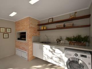 Cocina de estilo  por Stefani Arquitetura
