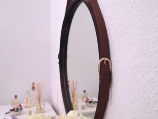 Espejo CInturón:  de estilo industrial de MIVART, Industrial
