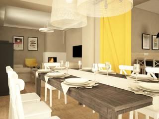Modern dining room by IN STUDIO PRACOWNIA PROJEKTOWA Modern