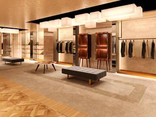 Showroom: Negozi & Locali commerciali in stile  di Simone Marazzi