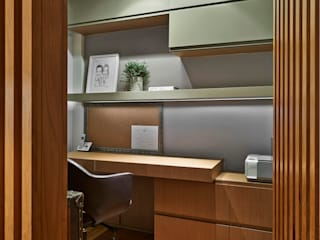 Modern style study/office by Juliana Goulart Arquitetura e Design de Interiores Modern