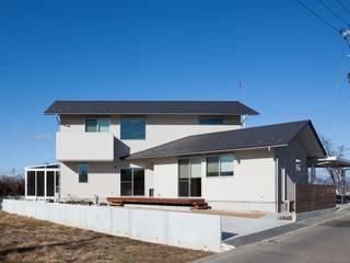 郡山・向作の家 モダンな 家 の 清建築設計室/SEI ARCHITECT モダン