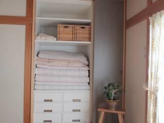 押入リノベーション01: 池田デザイン室(一級建築士事務所)が手掛けたです。