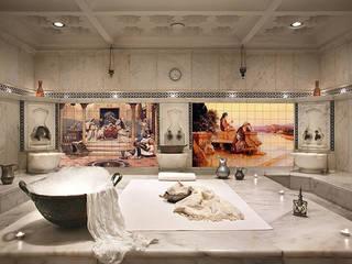 Hamam | SPA Dekoratif Fayans Baskılar FayansArt Klasik Spa Seramik Rengarenk