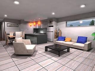 Wohnzimmer von I Nova Infra, Modern