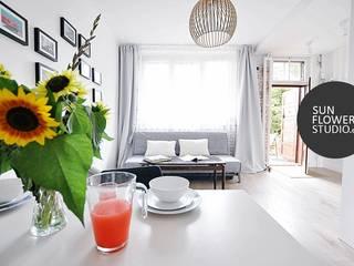 Miliform: styl , w kategorii Jadalnia zaprojektowany przez Sunflower Studio