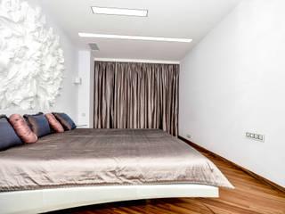 Квартира  на улице Гарибальди.: Спальни в . Автор – дизайн студия Астрова