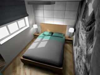 sypialnia: styl , w kategorii Sypialnia zaprojektowany przez Plan Design Katarzyna Szczucka Projektowanie Wnętrz