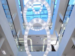 Looop crystal chandelier composition in Salamander shop Manooi Pusat Perbelanjaan Modern