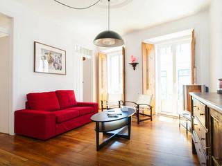 Chambre de style  par FORA Arquitectos, Moderne