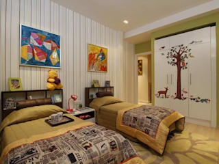 Cool Kids Room Modern nursery/kids room by Tanish Dzignz Modern