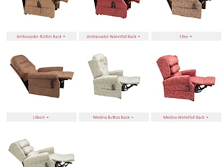 Riser recliner chairs and sofas:   by MSL Mobility Centre Ltd