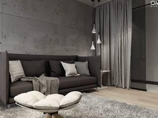 N.M. House Minimalistyczne domowe biuro i gabinet od OMCD Architects Minimalistyczny