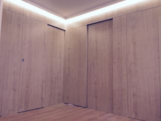 Corridor & hallway by Rubí & Del Árbol_arquitectos