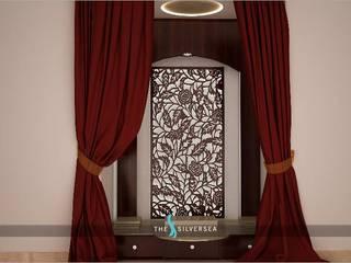 Salas / recibidores de estilo moderno por The Silversea