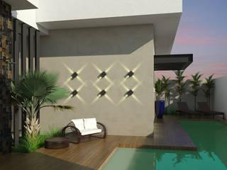Moderno e Cosmopolita Casas modernas por Celis Bender Arquitetura e Interiores Moderno