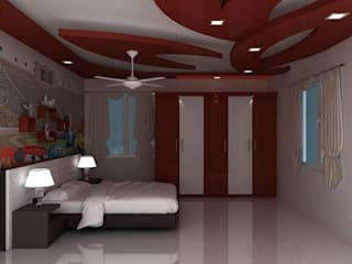 False Ceilings:   by Splendid Interior & Designers Pvt.Ltd