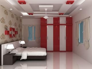 False Ceilings: modern  by Splendid Interior & Designers Pvt.Ltd ,Modern