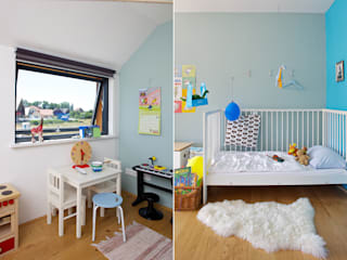 scandinavian Nursery/kid's room by gondesen architekt