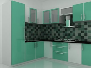 modern Kitchen by Splendid Interior & Designers Pvt.Ltd